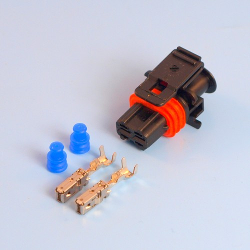 VOLVO BOSCH COMMON RAIL DIESEL INJECTOR ELECTRICAL CONNECTOR