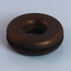 "3/4"" (19mm) Lucas Rists Black Rubber Wiring Grommet With 1/2"" Internal Hole"