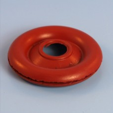"1 3/8"" (35mm) Lucas Rists Red Neoprene Wiring Grommet"