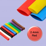 Red 2.4mm General Purpose Heat Shrink