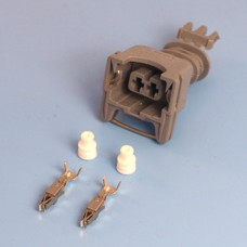 2 Way TE Junior Power Timer Grey Wiring Connector Kit