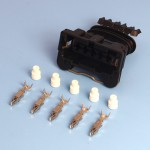 5 Way TE Junior Power Timer Black Wiring Connector Kit