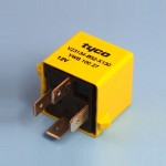 12V 40 Amp 4 Pin Relay Normally Open Contact With Coil Resistor -  Form A