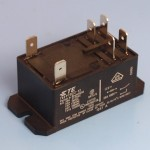 12V 20 Amp TE Potter & Brumfield Industrial Relay Double Pole Normally Open Contacts - Form A
