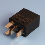 24V 25 Amp 4 Pin Normally Open Contact Micro Relay With Resistor - Form A