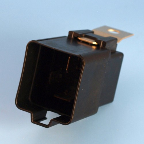 12v 40 Amp 4 Pin Shrouded Relay Normally Open Contact With Mounting Bracket And Coil Resistor