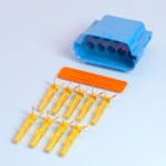 9 Way Blue Pin Housing Kit